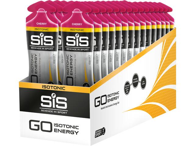 SiS GO Isotonic Energy Gel Box 30x60ml, Cherry